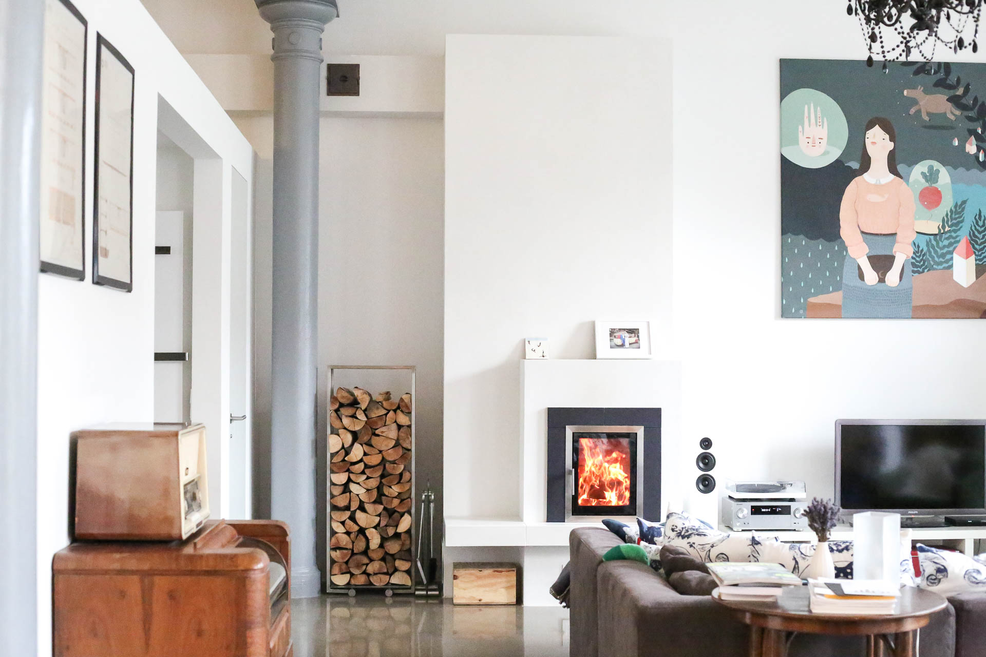 Stunning Futuristisches Interieur Loft Wohnung Gallery - New Home ...
